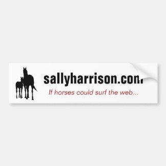 sallyharrison com bumper sticker