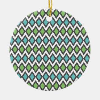 Salmiak Pattern custom ornament