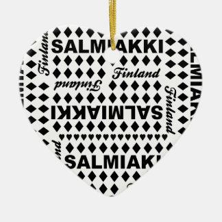 Salmiakki Finland ornament