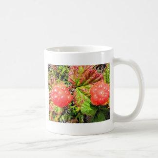 salmon berries coffee mug