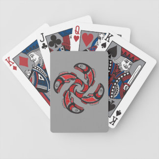 Salmon Cycle Playing Cards
