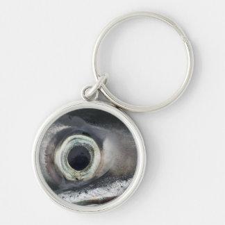 Salmon Eye Key Chain