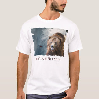 Salmon Falls & Grizzly Bear Funny Wildlife T-Shirt
