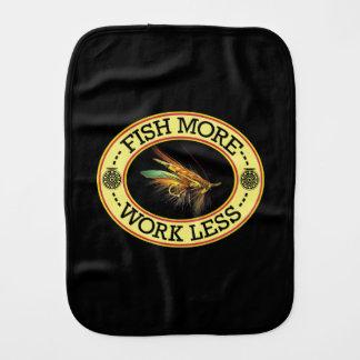 Salmon Fly Fishing Burp Cloth