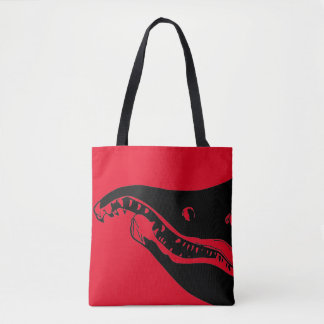 Salmon Head Tote Bag