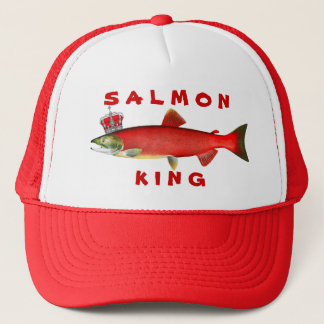 Salmon King Cap