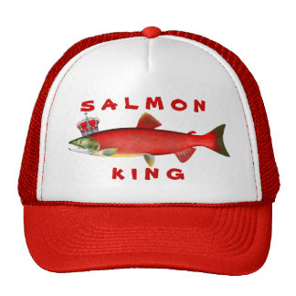 Salmon King Cap