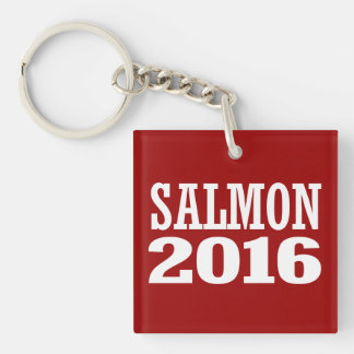 Salmon - Matt Salmon 2016 Double-Sided Square Acrylic Key Ring