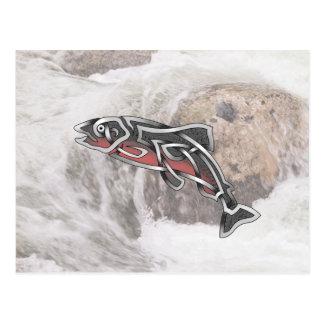 Salmon Post Card