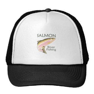 SALMON RIVER FISHING TRUCKER HAT