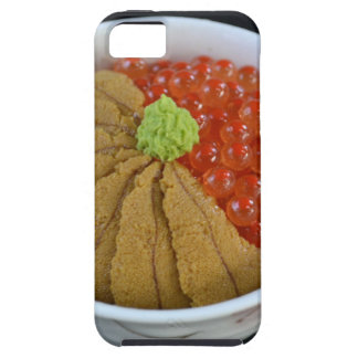 Salmon Roe Urchin Rice Bowl Japanese Food Black iPhone 5 Case