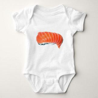 Salmon Sashimi Baby Bodysuit