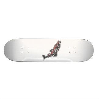 Salmon 21.3 Cm Mini Skateboard Deck
