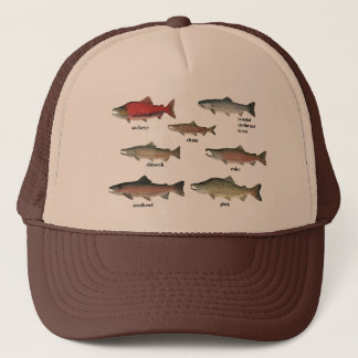 SALMON SPECIES HAT