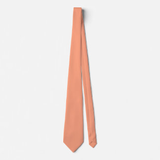 Salmon Sunset Neck Tie