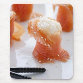 Salmon Sushi Mouspad Mouse Pad