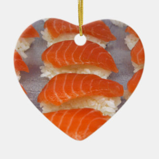 Salmon Sushi - Sashimi Christmas Ornament
