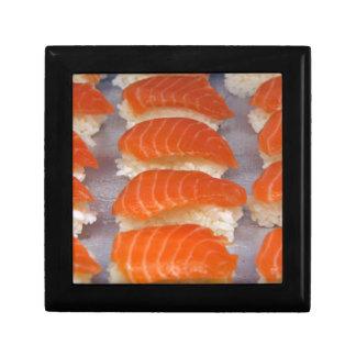 Salmon Sushi - Sashimi Small Square Gift Box