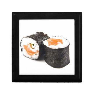 Salmon Sushi Small Square Gift Box