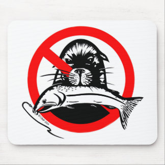 Salmon Thief Mousepad