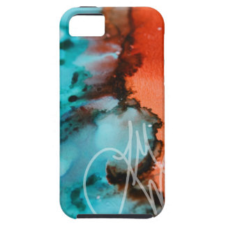 Salmon to Teal Case For The iPhone 5