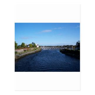 Salmon Weir Postcard