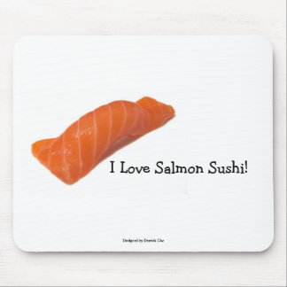 salmonsushi, I Love Salmon Sushi!, Designed by ... Mouse Mat