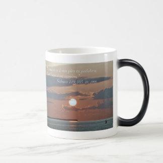 Salmos 119:105 Tazon Morphing Mug