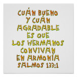 Salmos 133:1 poster