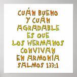 Salmos 133:1 poster