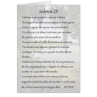 Salmos 23 Carta Cards