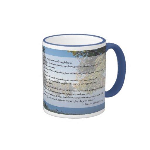 Salmos 23 (Taza) Coffee Mugs