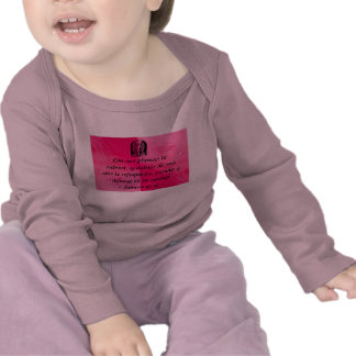 Salmos 91 4 infant shirt Spanish