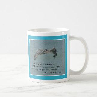 Salmos 91:4 Taza Coffee Mug