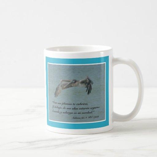 Salmos 91:4 Taza Coffee Mugs