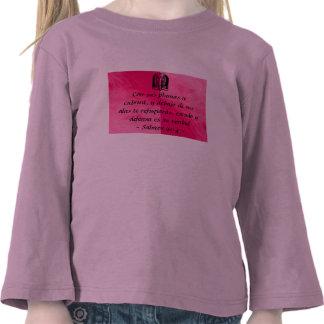 Salmos 91 4 toddler shirt Spanish