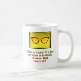 Salmos 98:3 basic white mug