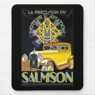 Salmson Autombiles - Moteur D' Aviation Mouse Mat