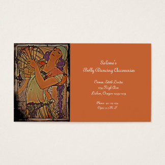 Salome 1897 business card