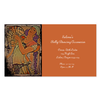 Salome 1897 pack of standard business cards