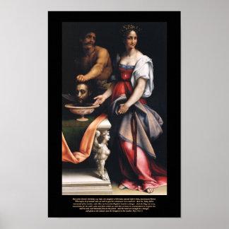 Salome - Cesare Da Sesto's Masterpiece Canvas Print