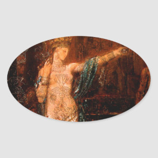 Salome Oval Sticker