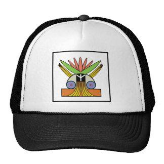 Salome Peace Symbol Mesh Hats