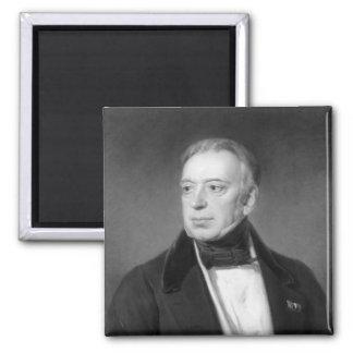Salomon Mayer von Rothschild Square Magnet