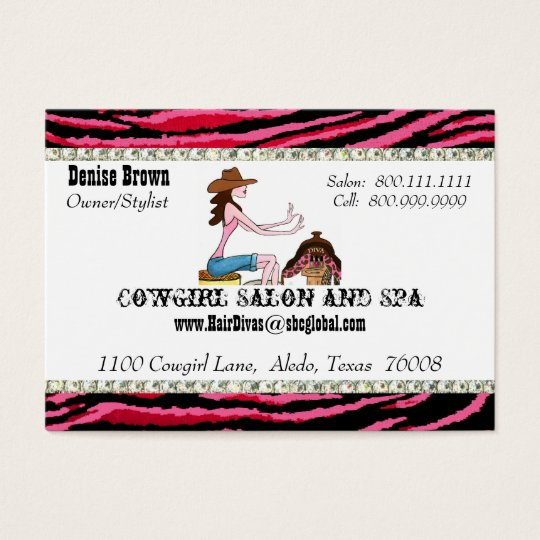 Salon and Spa/ Cowgirl Chubby profile cards
