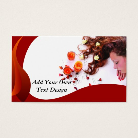 Salon Business Card