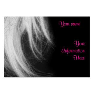 Salon business profile card template business cards