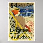 Salon des Cent ~ Exposition Internationale Poster