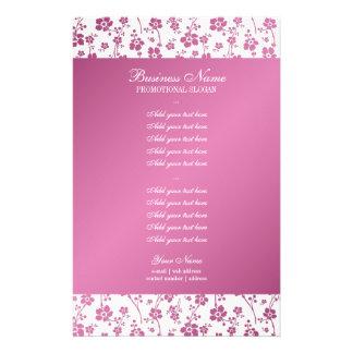 Salon Floral Pink Professional 14 Cm X 21.5 Cm Flyer