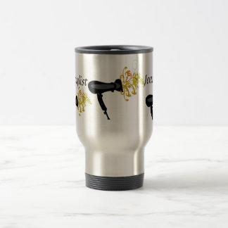 Salon Hair Stylist Air Dryer Travel Mug
